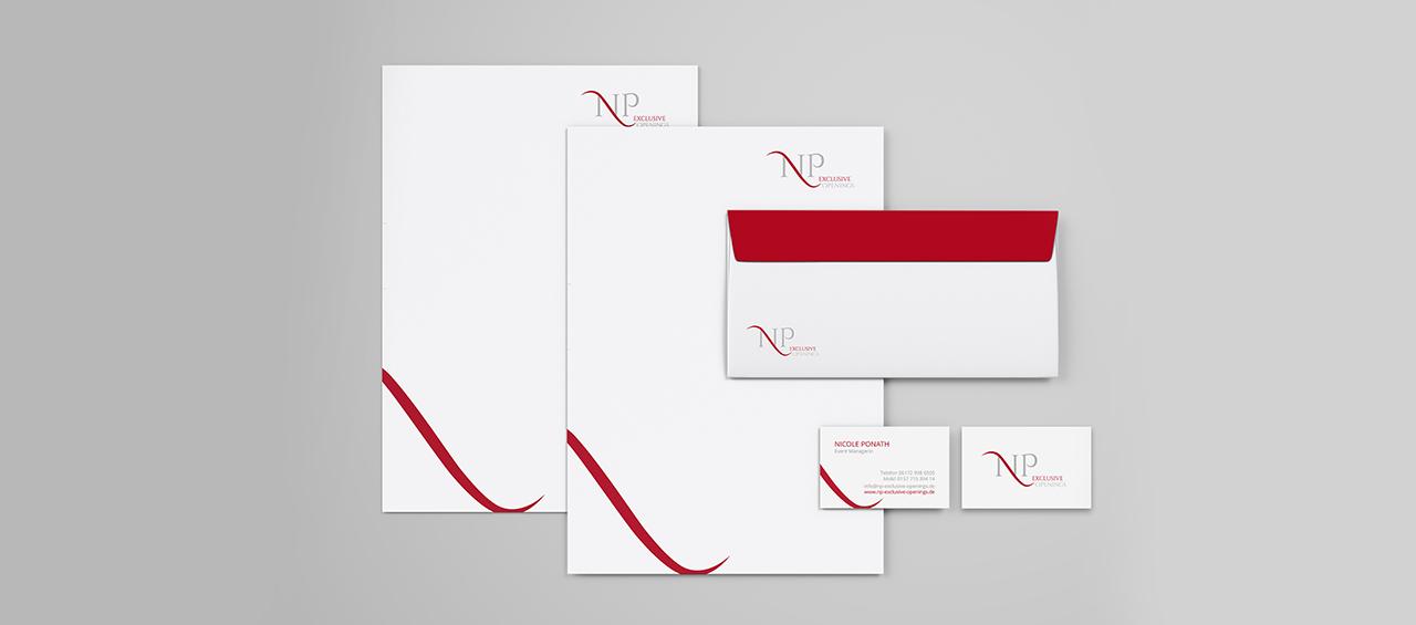 Klare Linien || Portfolio || NP - Exclusive Openings || Geschäftsausstattung