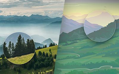Vektor- vs. Pixelgrafik
