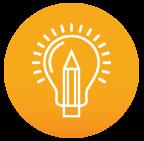 Klare Linien || Icon || Ideenfindung