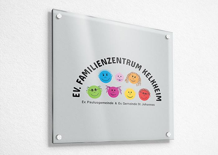 Klare Linien || Portfolio || Familienzentrum Kelkheim || Logo