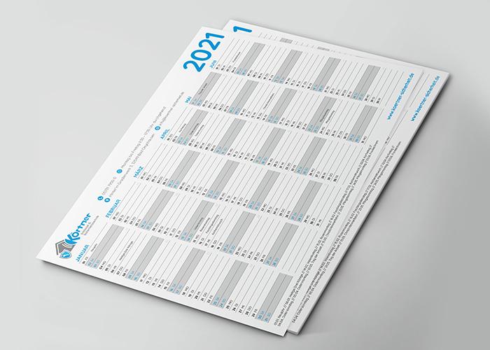 Klare Linien || Portfolio || Körtner Sicherheitstechnik || Kalender