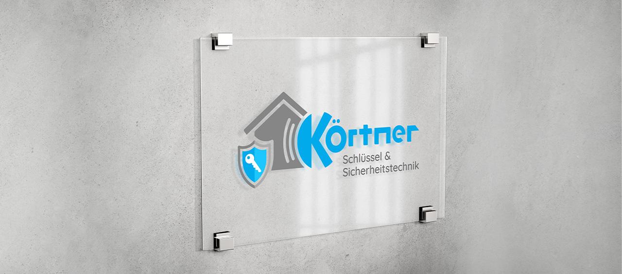Klare Linien || Portfolio || Körtner Sicherheitstechnik || Logo