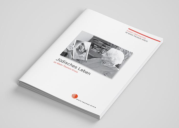Klare Linien || Portfolio || Kunst und Kultur - Main Taunus Kreis || Broschüre