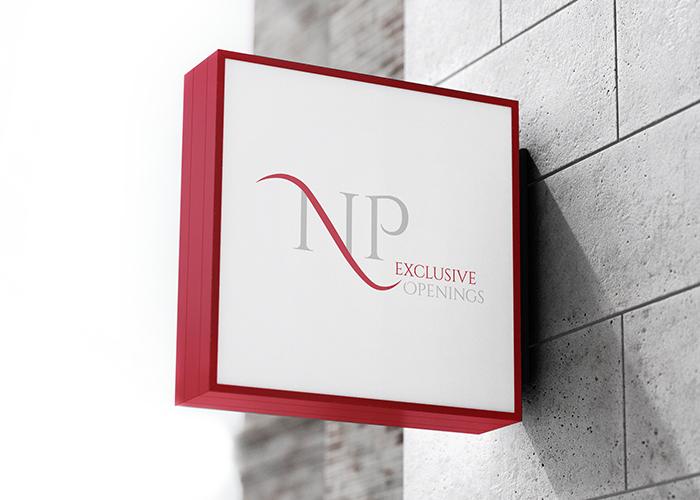 Klare Linien || Portfolio || NP - Exclusive Openings || Logo
