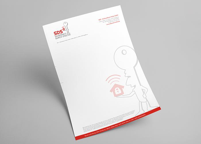 Klare Linien    Portfolio    Schlüssel Stoltze    Briefbogen