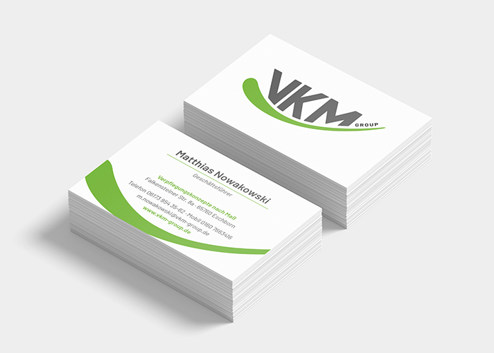 Klare Linien || Portfolio || VKM Group || Visitenkarte
