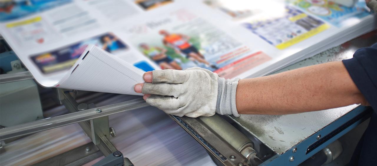 Klare Linien || Blog || Print ist relevant – Titelbild