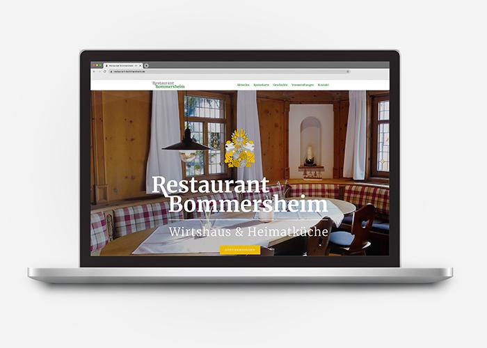 Klare Linien || Portfolio || Bommersheim || Webseite