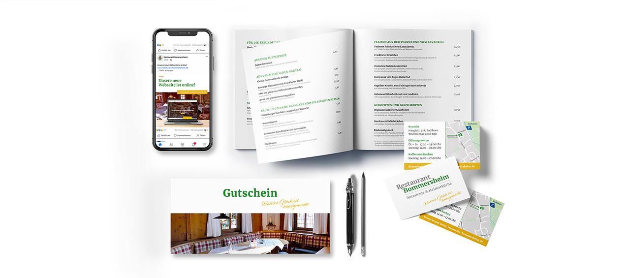 Klare Linien || Portfolio || Bommersheim || Geschäftsausstattung